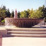Elementy fontanny wykończone Polimocznikiem.