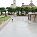 Hydroizolacja fontanny.