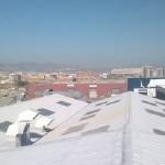 Docieplanie dachu płaskiego