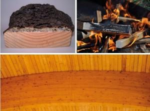 Zabezpieczenia p.poż drewna